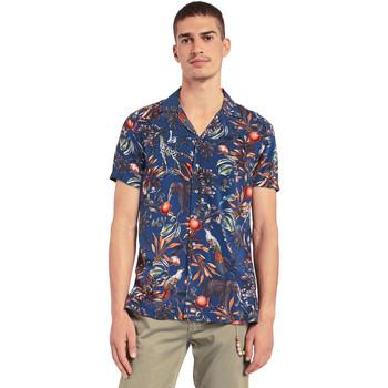 Vêtements Homme Chemises manches courtes Gaudi 011BU45047 Bleu