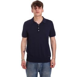 Vêtements Homme Polos manches courtes Gaudi 011BU53011 Bleu