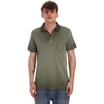 Vêtements Homme Polos manches courtes Gaudi 011BU64017 Vert