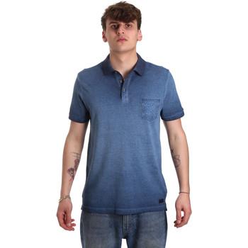 Vêtements Homme Polos manches courtes Gaudi 011BU64017 Bleu
