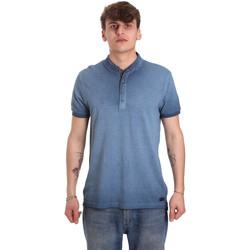 Vêtements Homme Polos manches courtes Gaudi 011BU64018 Bleu