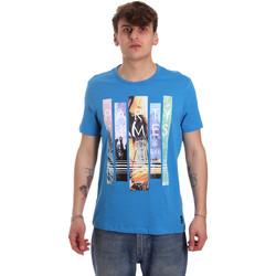 Vêtements Homme T-shirts manches courtes Gaudi 011BU64028 Bleu