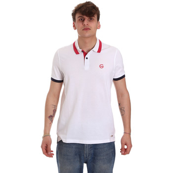 Vêtements Homme Polos manches courtes Gaudi 011BU64043 Blanc