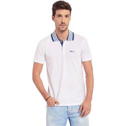 Vêtements Homme Polos manches courtes Gaudi 011BU64044 Blanc