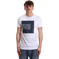 Vêtements Homme T-shirts manches courtes Gaudi 011BU64067 Blanc