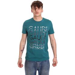 Vêtements Homme T-shirts manches courtes Gaudi 011BU64068 Vert