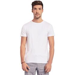 Vêtements Homme T-shirts manches courtes Gaudi 011BU64093 Blanc