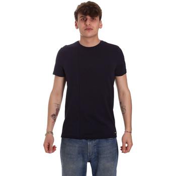 Vêtements Homme T-shirts manches courtes Gaudi 011BU64093 Bleu