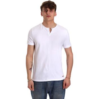 Vêtements Homme T-shirts manches courtes Gaudi 011BU64094 Blanc