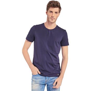 Vêtements Homme T-shirts manches courtes Gaudi 011BU64094 Bleu