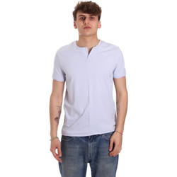 Vêtements Homme T-shirts manches courtes Gaudi 011BU64094 Violet