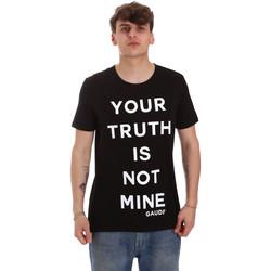 Vêtements Homme T-shirts manches courtes Gaudi 011BU64107 Noir