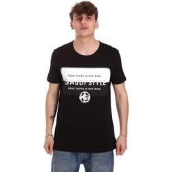 Vêtements Homme T-shirts manches courtes Gaudi 011BU64108 Noir