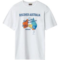 Vêtements Homme T-shirts manches courtes Napapijri NP0A4E8H Blanc