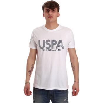 Vêtements Homme T-shirts manches courtes U.S Polo Assn. 57197 49351 Blanc
