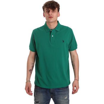 Vêtements Homme Polos manches courtes U.S Polo Assn. 55957 41029 Vert
