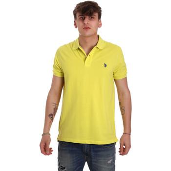 Vêtements Homme Polos manches courtes U.S Polo Assn. 55957 41029 Jaune