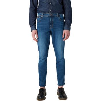 Vêtements Homme Jeans slim Wrangler W12ST112E Bleu