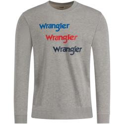 Vêtements Homme Sweats Wrangler W6A5HAX37 Gris