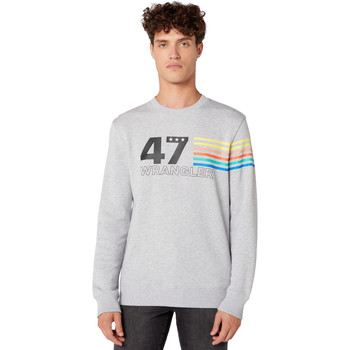 Vêtements Homme Sweats Wrangler W6A5HAX03 Gris