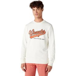 Vêtements Homme Sweats Wrangler W6A5HA737 Blanc