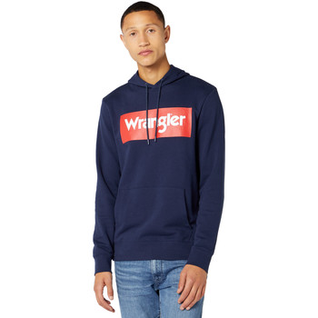 Vêtements Homme Sweats Wrangler W6B9HA114 Bleu