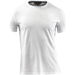 Vêtements Homme T-shirts manches courtes Lumberjack CM60343 004 517 Blanc