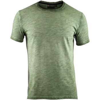 Vêtements Homme T-shirts manches courtes Lumberjack CM60343 004 517 Vert