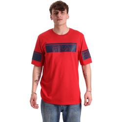 Vêtements Homme T-shirts manches courtes Fila 683085 Rouge