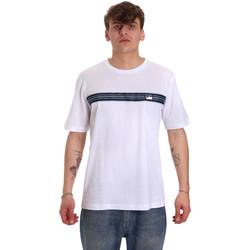 Vêtements Homme T-shirts manches courtes Antony Morato MMKS01686 FA100144 Blanc