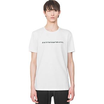 Vêtements Homme Lauren Ralph Lau Antony Morato MMKS01754 FA100144 Blanc