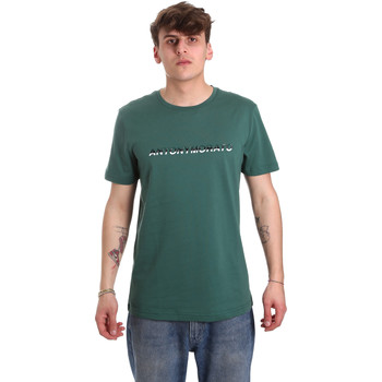 Vêtements Homme T-shirts manches courtes Antony Morato MMKS01754 FA100144 Vert
