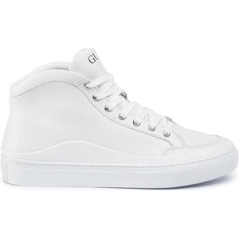 Chaussures Homme Baskets montantes Guess FM5LRH LEA12 Blanc