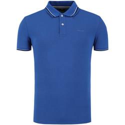 Vêtements Homme Polos manches courtes Geox M0210A T2649 Bleu