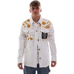Vêtements Homme Vestes Versace C1GVB92GHRC33003 Blanc