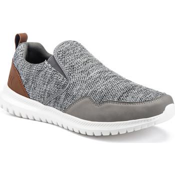 Chaussures Homme Slip ons Lumberjack SM54302 002 U22 Gris
