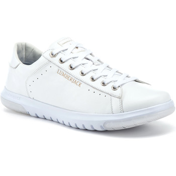 Chaussures Homme Baskets basses Lumberjack SM88912 001 B38 Blanc
