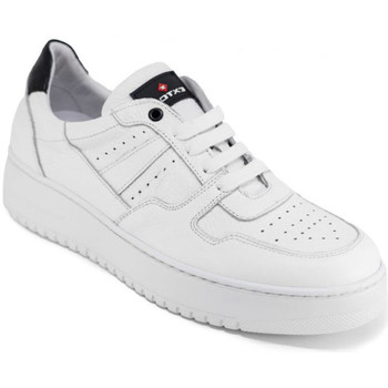 Chaussures Homme Baskets basses Exton 427 Blanc