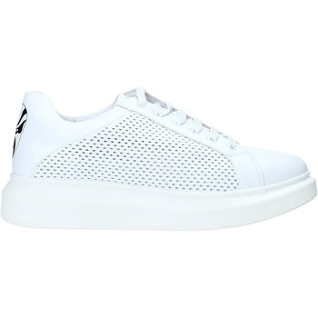 Chaussures Homme Baskets basses Rocco Barocco N5 Blanc