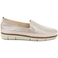 Chaussures Femme Slip ons Grunland SC2790 Blanc
