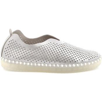 Chaussures Femme Slip ons Grunland SC4910 Argent