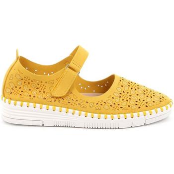 Chaussures Femme Ballerines / babies Grunland SC4911 Jaune
