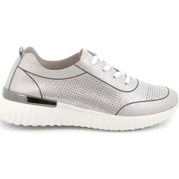 Chaussures Femme Baskets basses Grunland SC4905 Argent