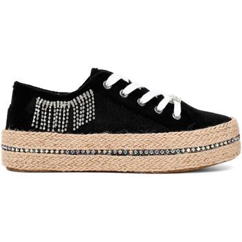 Chaussures Femme Baskets basses Café Noir DG934 Noir