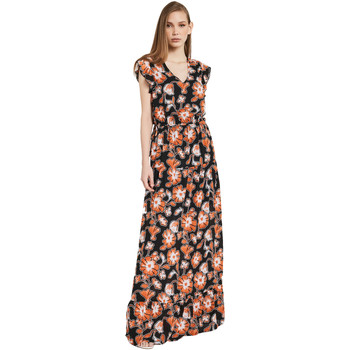 Vêtements Femme Robes longues Gaudi 011BD15020 Noir