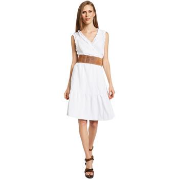 Vêtements Femme Robes courtes Gaudi 011BD15037 Blanc