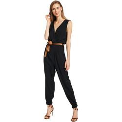 Vêtements Femme Combinaisons / Salopettes Gaudi 011BD25045 Noir