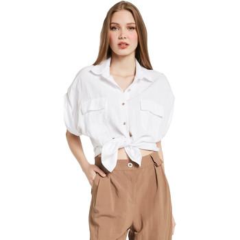 Vêtements Femme Chemises / Chemisiers Gaudi 011BD45030 Blanc