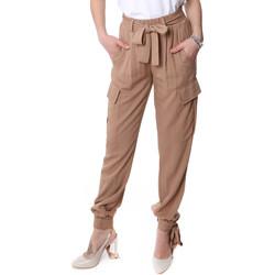 Vêtements Femme Pantalons cargo Fracomina FR20SP127 Beige