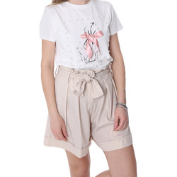 Vêtements Femme Shorts / Bermudas Fracomina FR20SP150 Beige